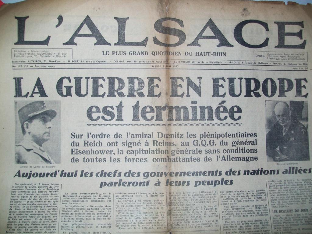 Mai-septembre 1945 : les journaux de la fin de la Seconde Guerre mondiale 100_6525
