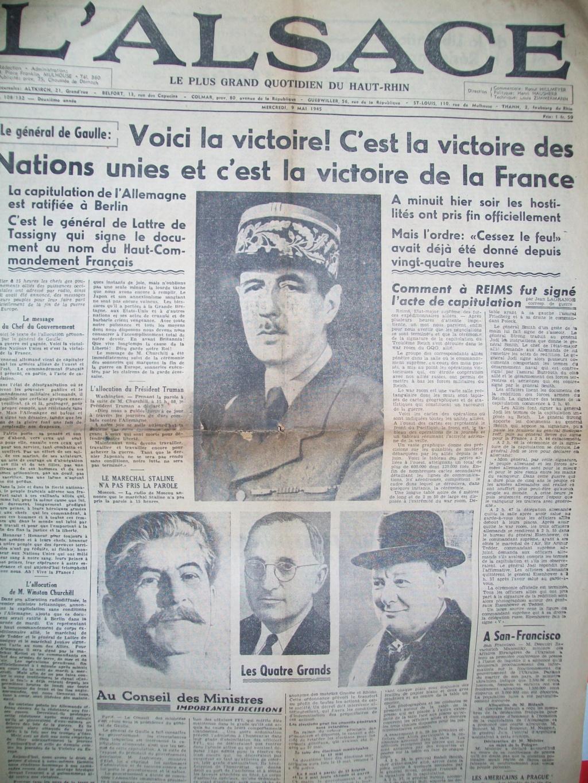 Mai-septembre 1945 : les journaux de la fin de la Seconde Guerre mondiale 100_6526
