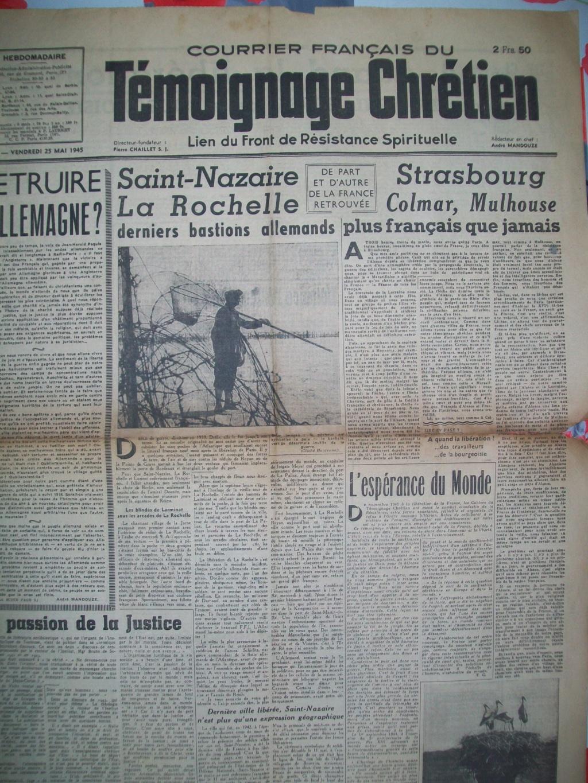 Mai-septembre 1945 : les journaux de la fin de la Seconde Guerre mondiale 100_6527