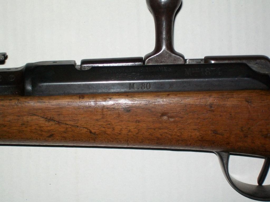 Lot de 4 armes à feu pour identification et estimation 100_6712