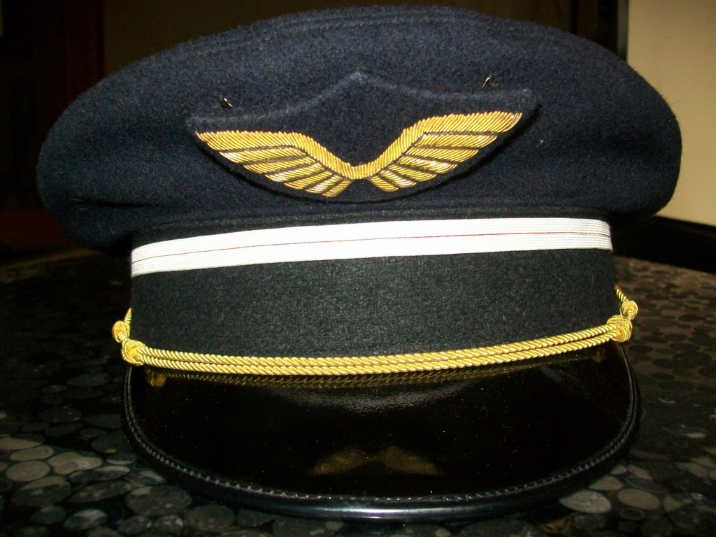 Casquette aviation francaise modele fanfare 100_7642