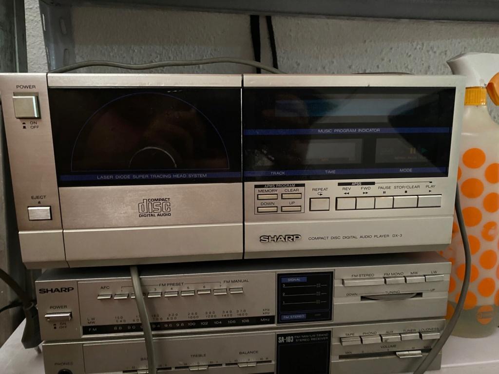 Cd Sharp Dx-3 de 1982 . Merece la pena?  Dx310