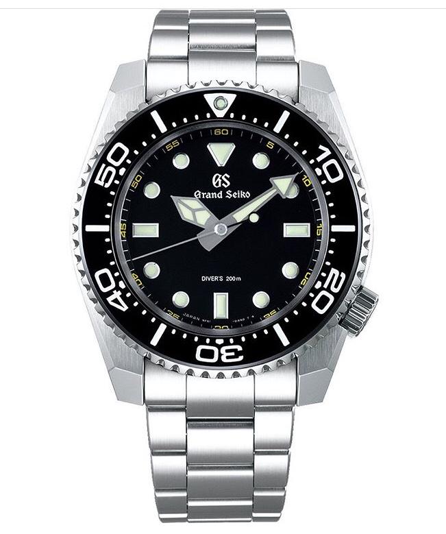 Nuevos Grand Seiko Diver's cuarzo 9F61 15580010