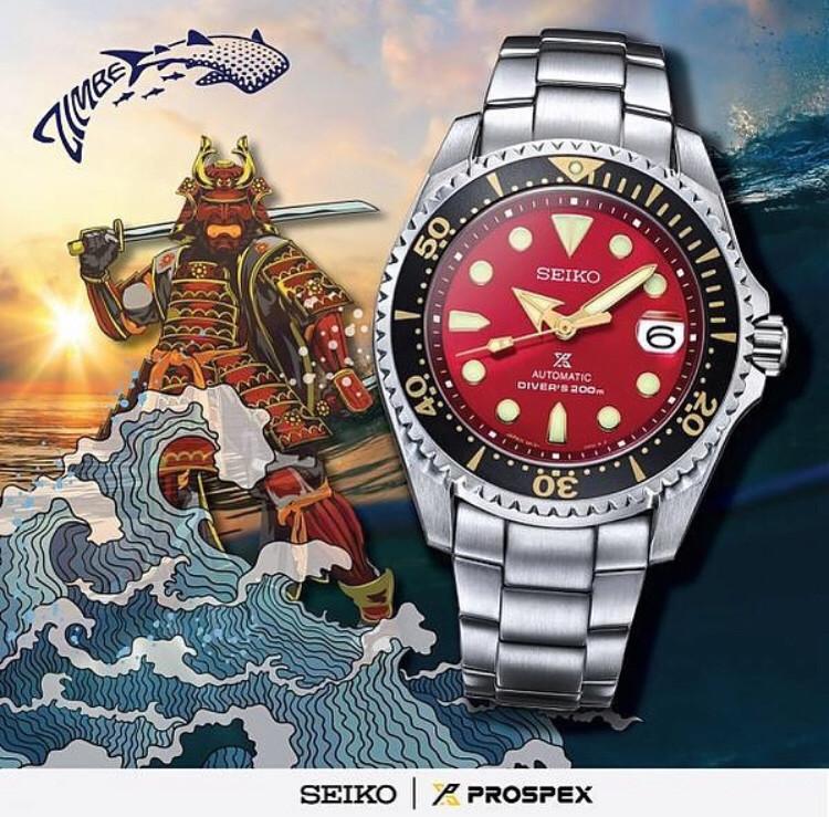 Seiko Shogun Red Zimbe 15625011