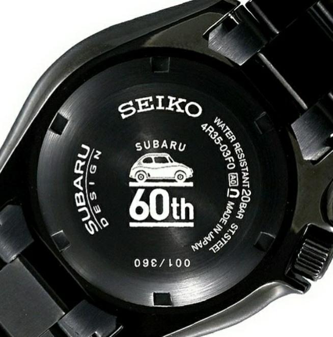 Seiko Subaru 360 20181215