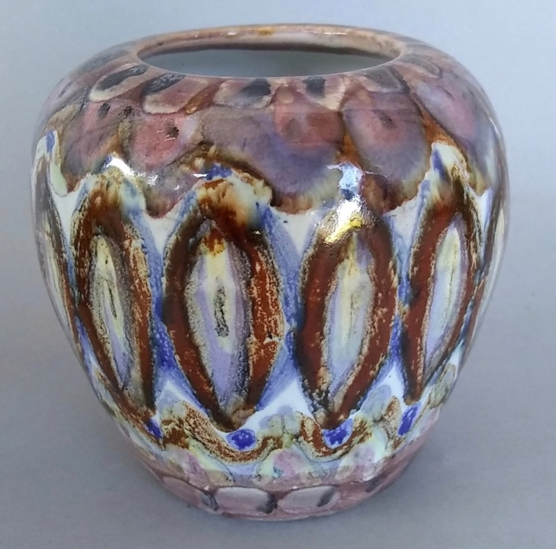 Miniature Studio Pottery Vase Marked Holland and letter N & S? Img_2017