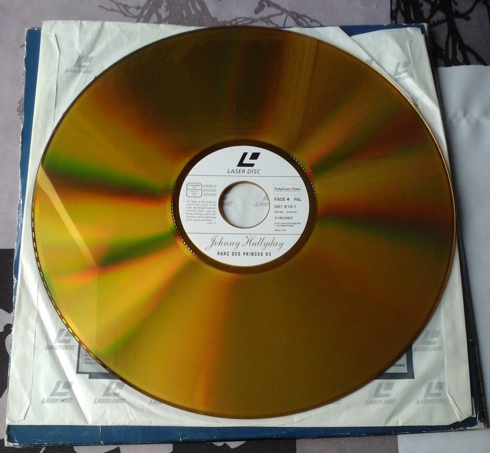 Laser Disc 20180620