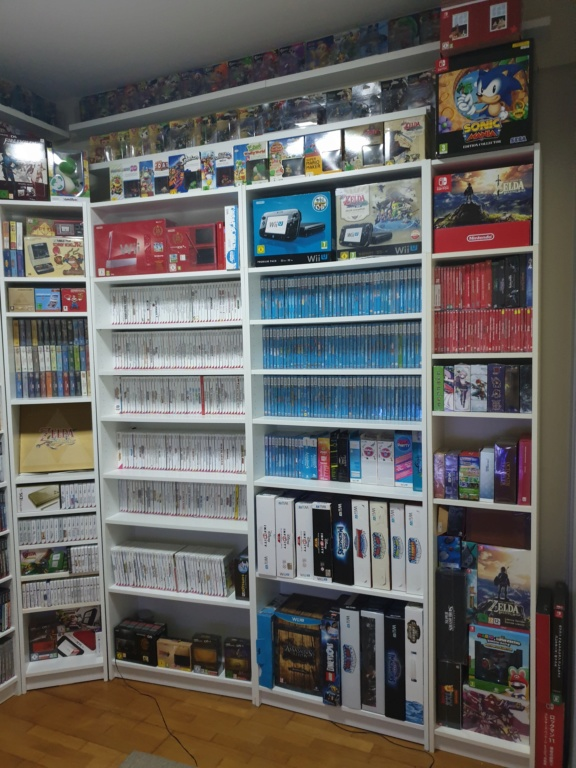 Collection Justin Adam (fullset Wii U, GC, N64...) 20190315