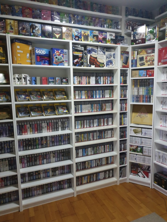 Collection Justin Adam (fullset Wii U, GC, N64...) 20190316