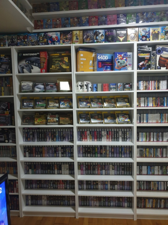 Collection Justin Adam (fullset Wii U, GC, N64...) 20190320