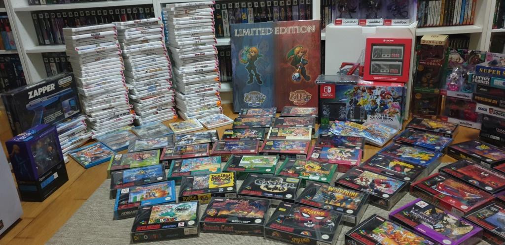 Collection Justin Adam (fullset Wii U, GC, N64...) 20190811