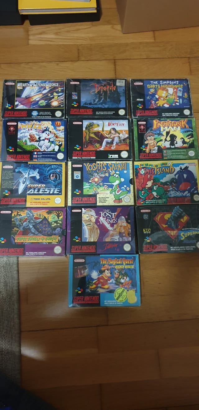 Collection Justin Adam (fullset Wii U, GC, N64...) Rentre10