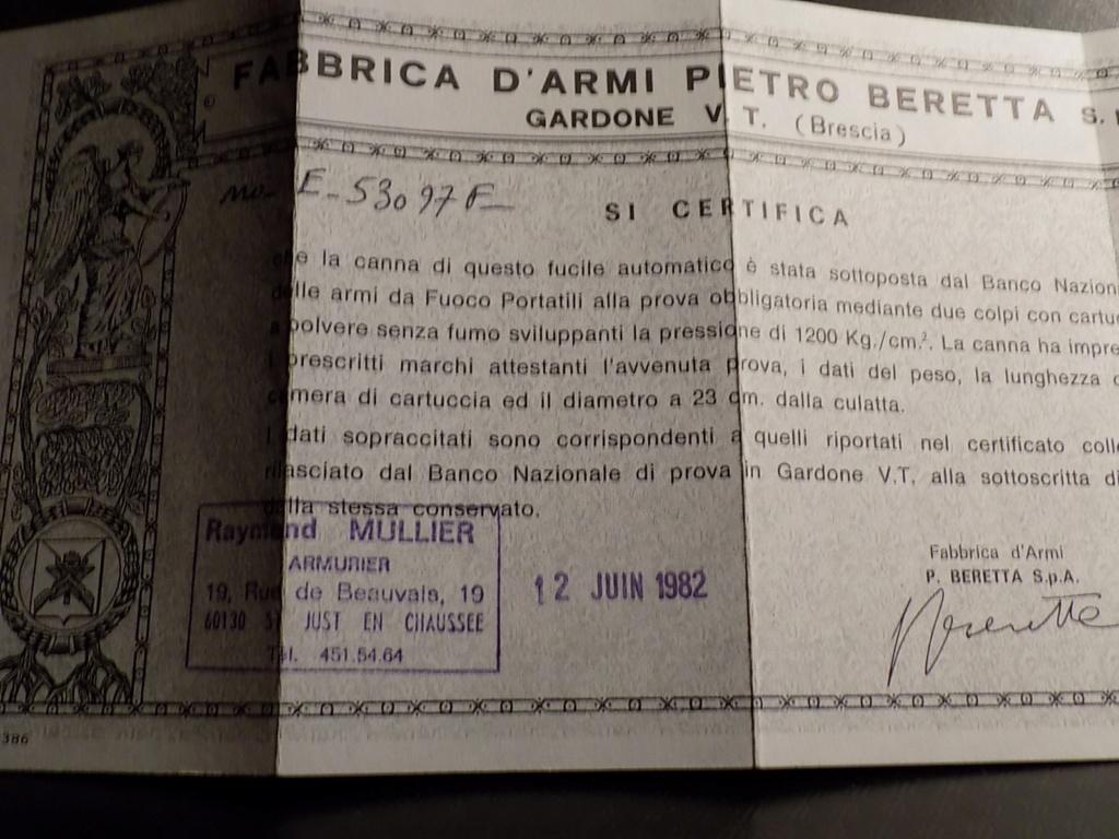 Poncé huilé Beretta A302 Dscn1027