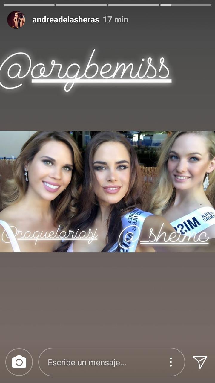 candidatas a miss universe spain 2018. final: 29 june. - Página 2 Screen10