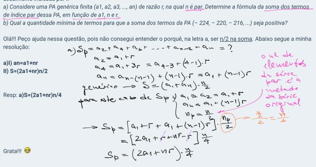 Progressão Aritmética Scre1162
