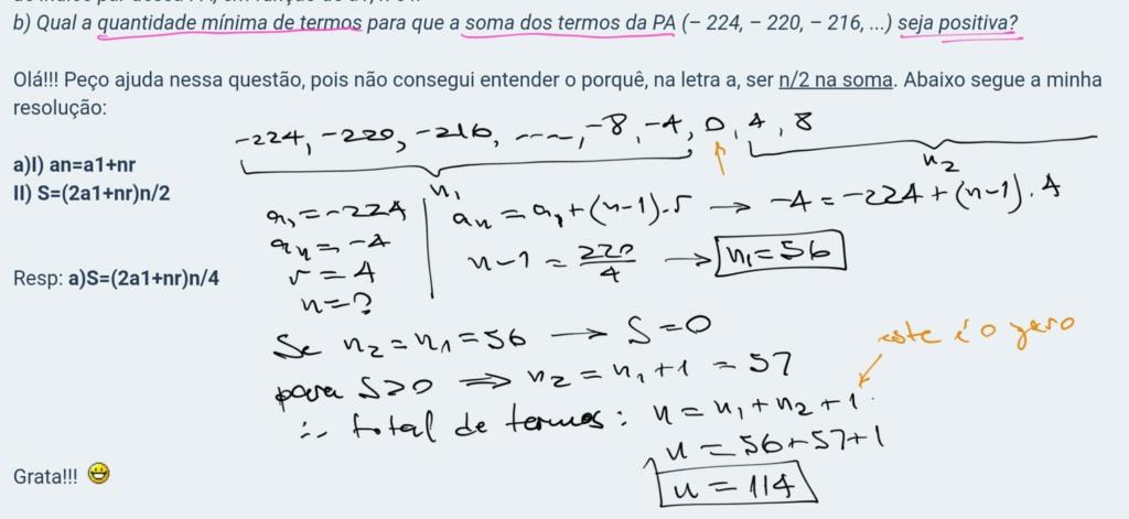 Progressão Aritmética Scre1163