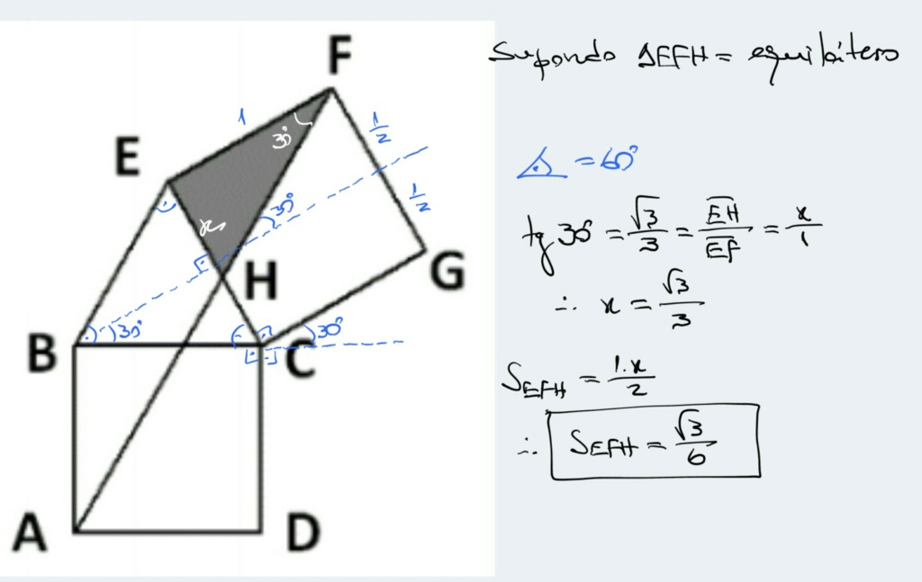 Geometria - Quadrados e Triângulo Scre1493