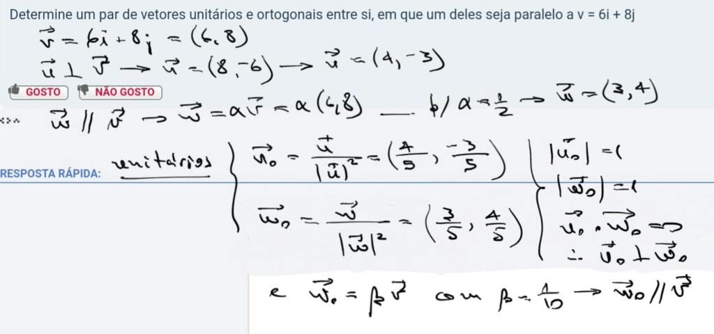 QUESTÃO DE VETORES UNITARIOS Scre1505