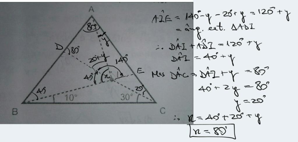 Ângulos em um triângulo isósceles Scre1529