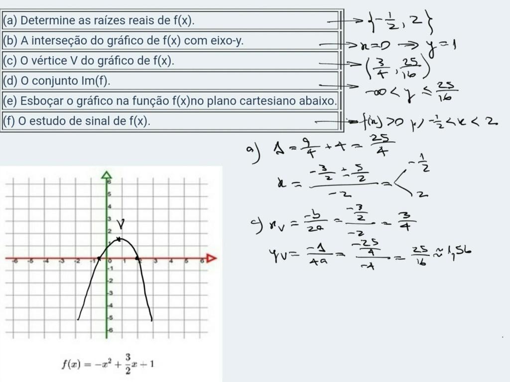 Função do Segundo Grau (Função Quadrática) Scre1578