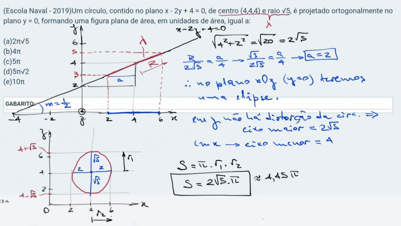 Desafio 1: Matemática-Geometria Analítica Scree846