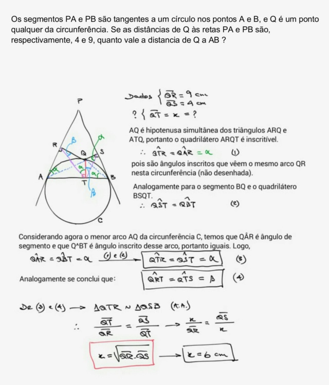 Desafio Matemática(9.1.3): Geometria Plana Scree880