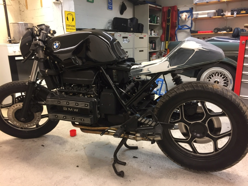 Bmw K100rs style change of style. 48283f10