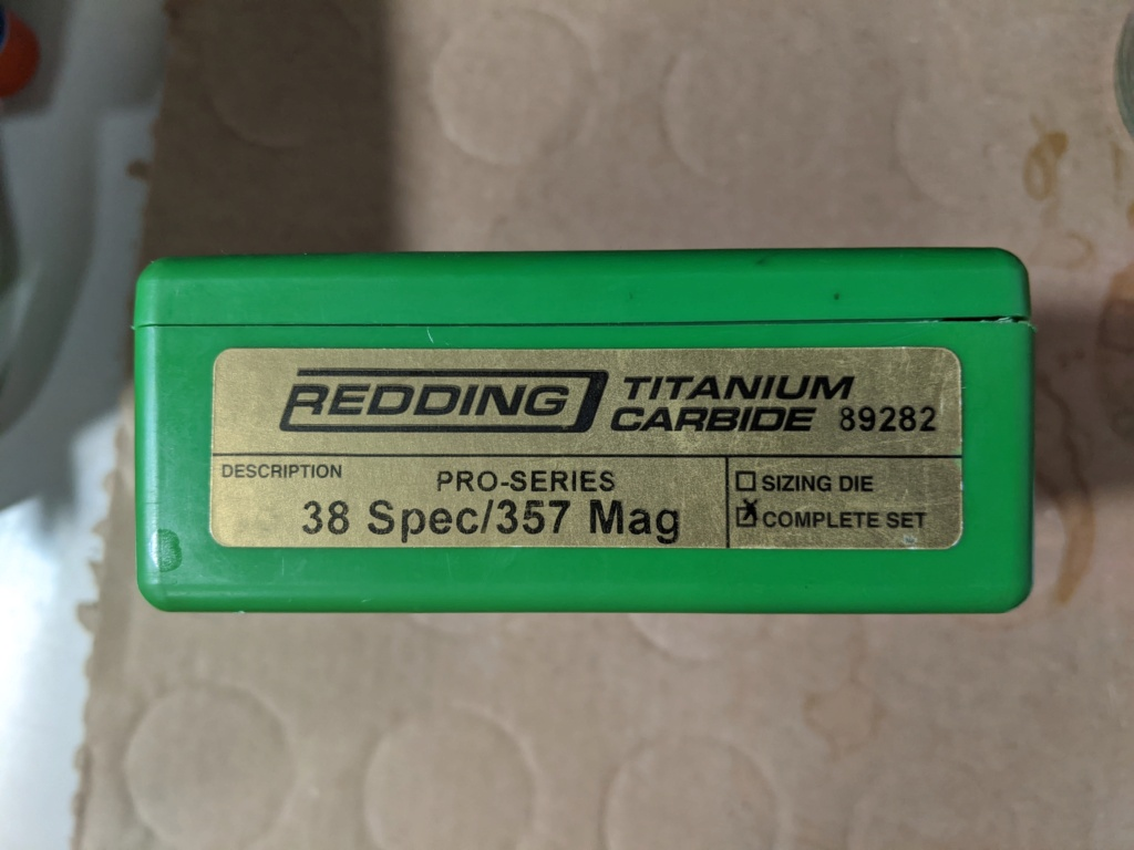 SOLD - WTS: 38 Special/357 Mag. Redding Pro-Series Dies (#89282) - SOLD Pxl_2012