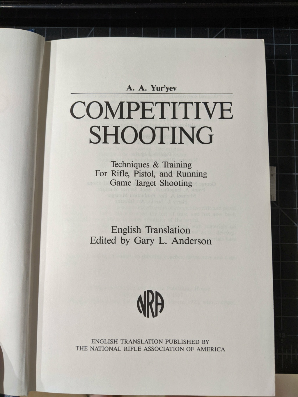 SPF! WTS: Competitive Shooting by A. A. Yur'yev Pxl_2025