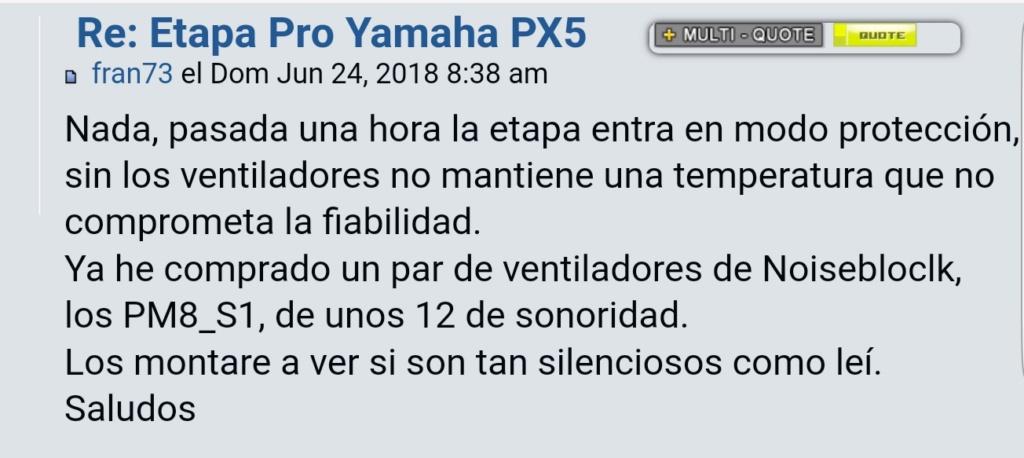 Etapa Pro Yamaha PX5 Screen86