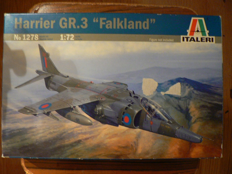 [ Italeri ex Esci ] Harrier GR-3 ( 1/72° ) 123