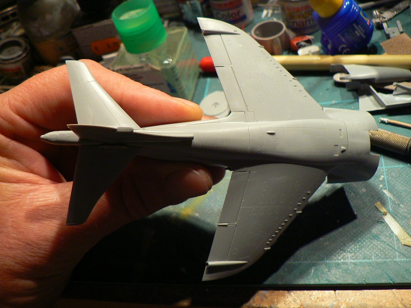 [ Italeri ex Esci ] Harrier GR-3 ( 1/72° ) 518