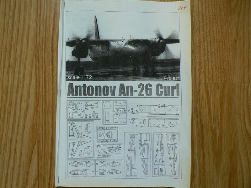 [ Russian project ] Antonov AN-26 Curl - 1/72 ° 818