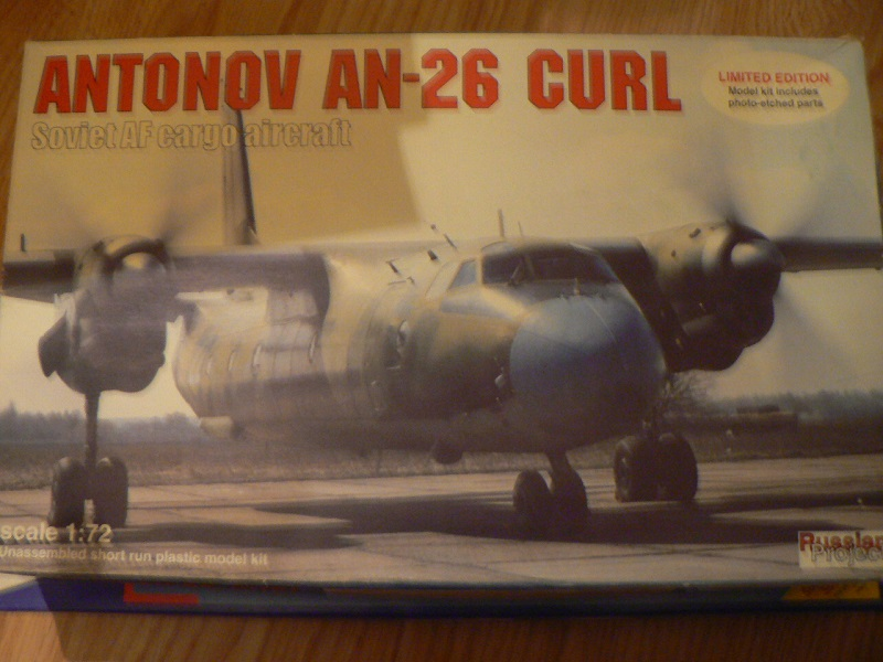 [ Russian project ] Antonov AN-26 Curl - 1/72 ° P1060016