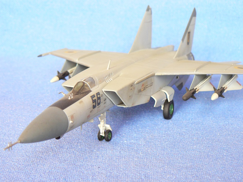 Montage MiG 25 ICM - Page 5 Pic13510