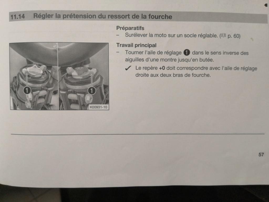 CH info sur la WP Xplor 2018 (sherco) Réglage sur le dessus Img_2048