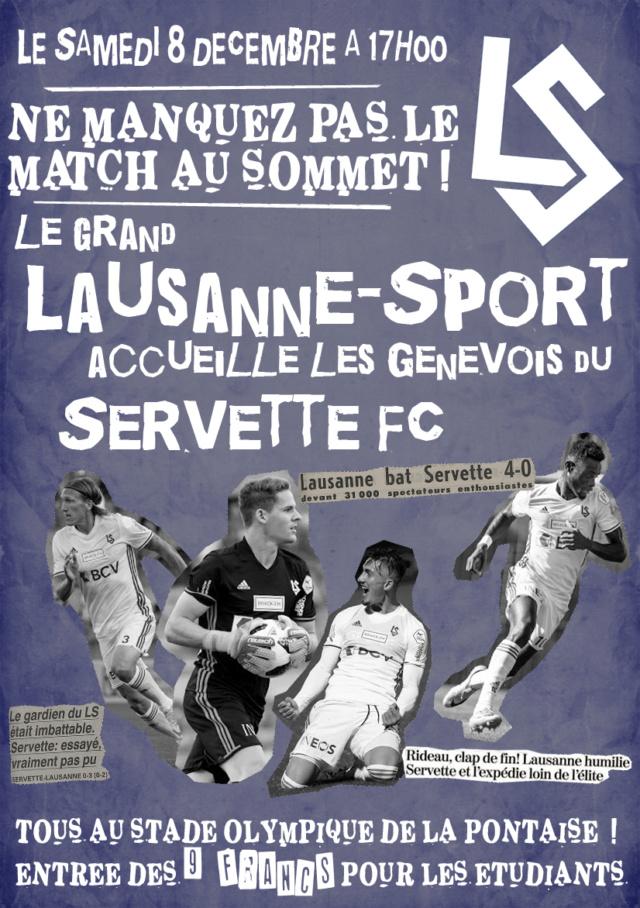 DERBY !!! FC Lausanne-Sports - Servette FC (08.12.18 - 17h) Flyer13