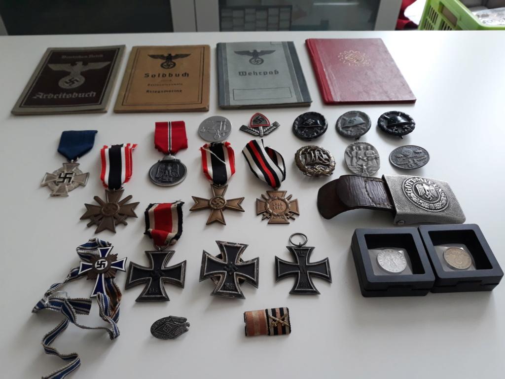 Estimation collection médailles et décorations  20180711