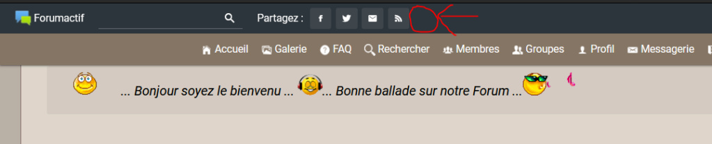 YouTube dans la barre de toolbar Captur28