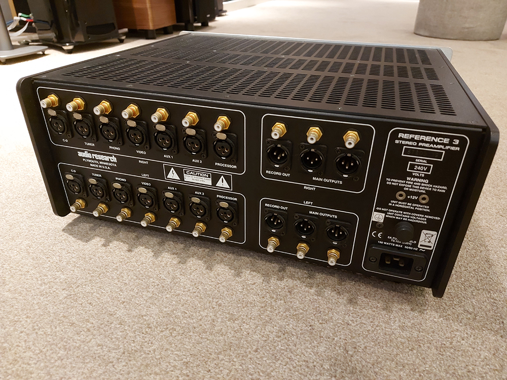 Audio Research Reference 3 Valve Preamp - Sold 20200712