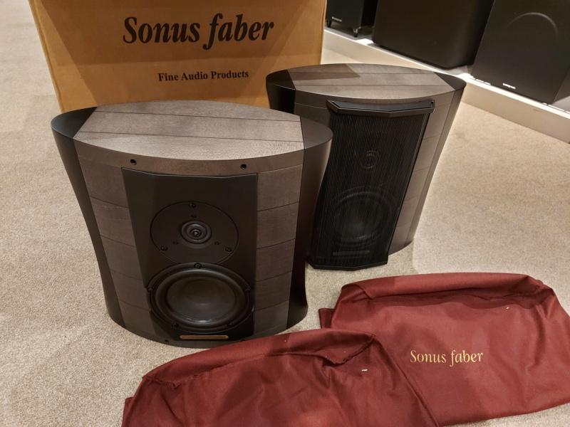 Sonus Faber Elipsa Auditor Graphite NOS Opened Box Elipsa12