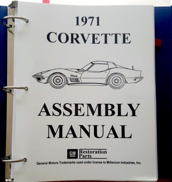Les meilleurs livres pour une restauration corvette C3 1968 20200210