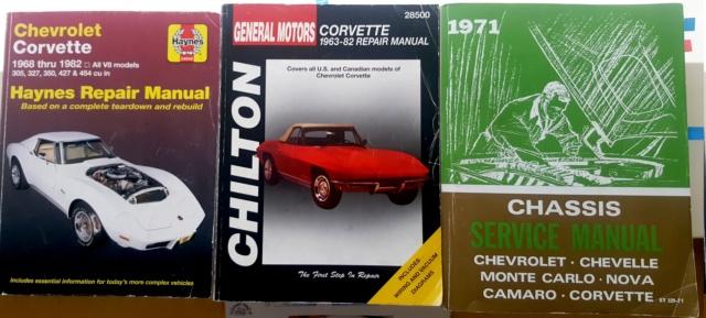 Les meilleurs livres pour une restauration corvette C3 1968 20200211