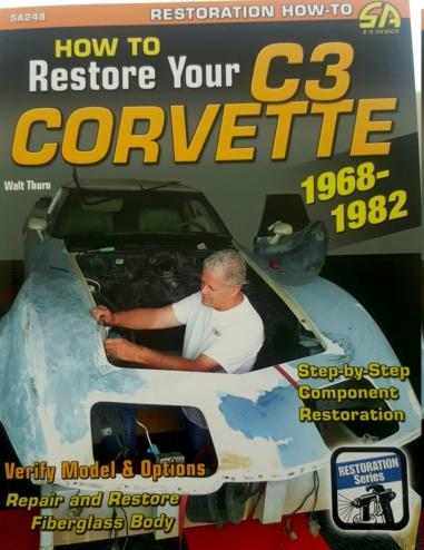 Les meilleurs livres pour une restauration corvette C3 1968 20200213