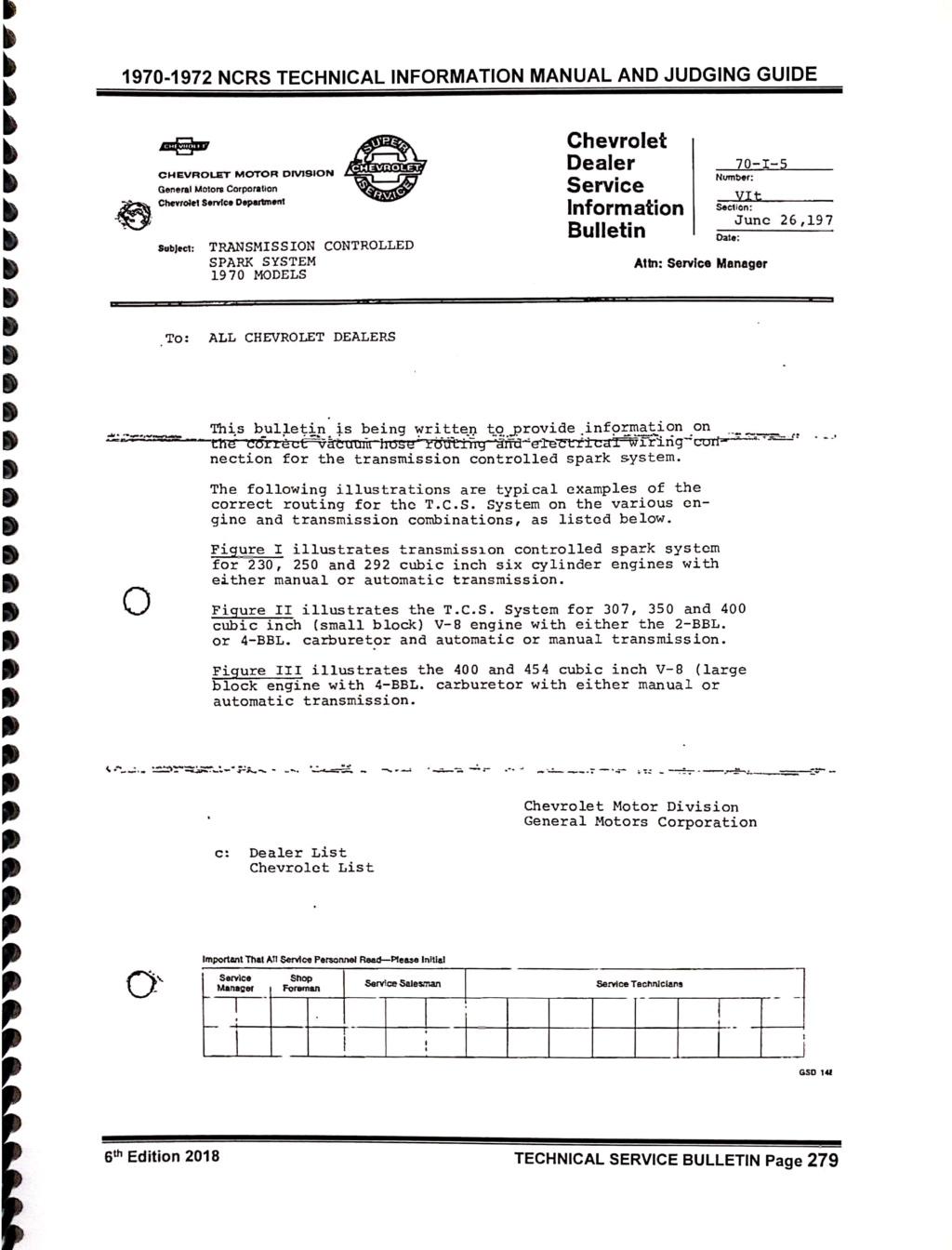 """CHEVROLET  """"Dealer Service Bulletins"""" Nouvea11"""