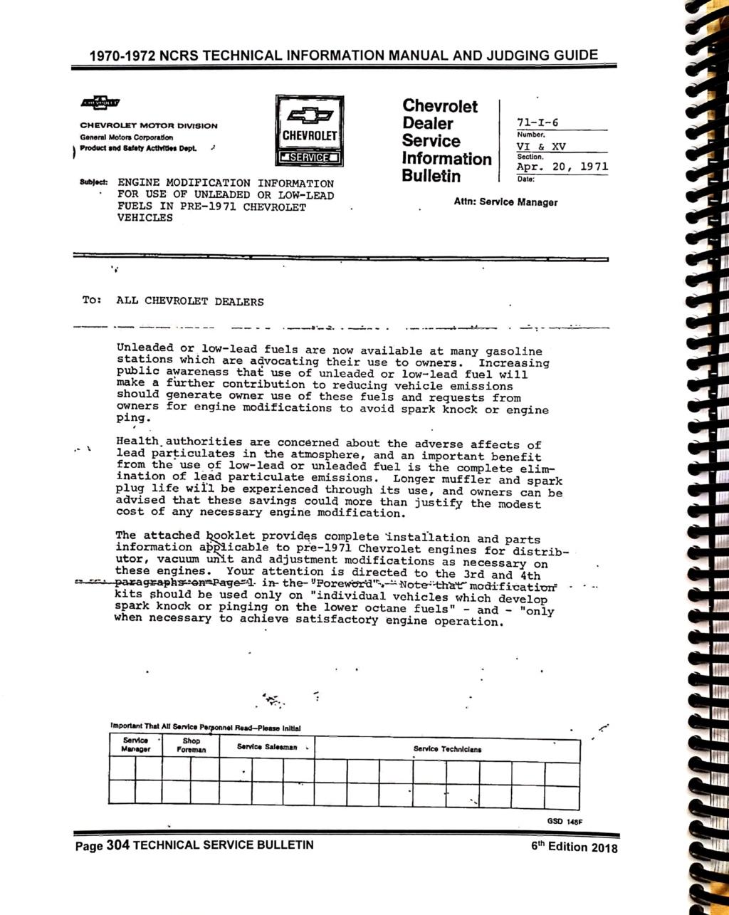 """CHEVROLET  """"Dealer Service Bulletins"""" Nouvea17"""