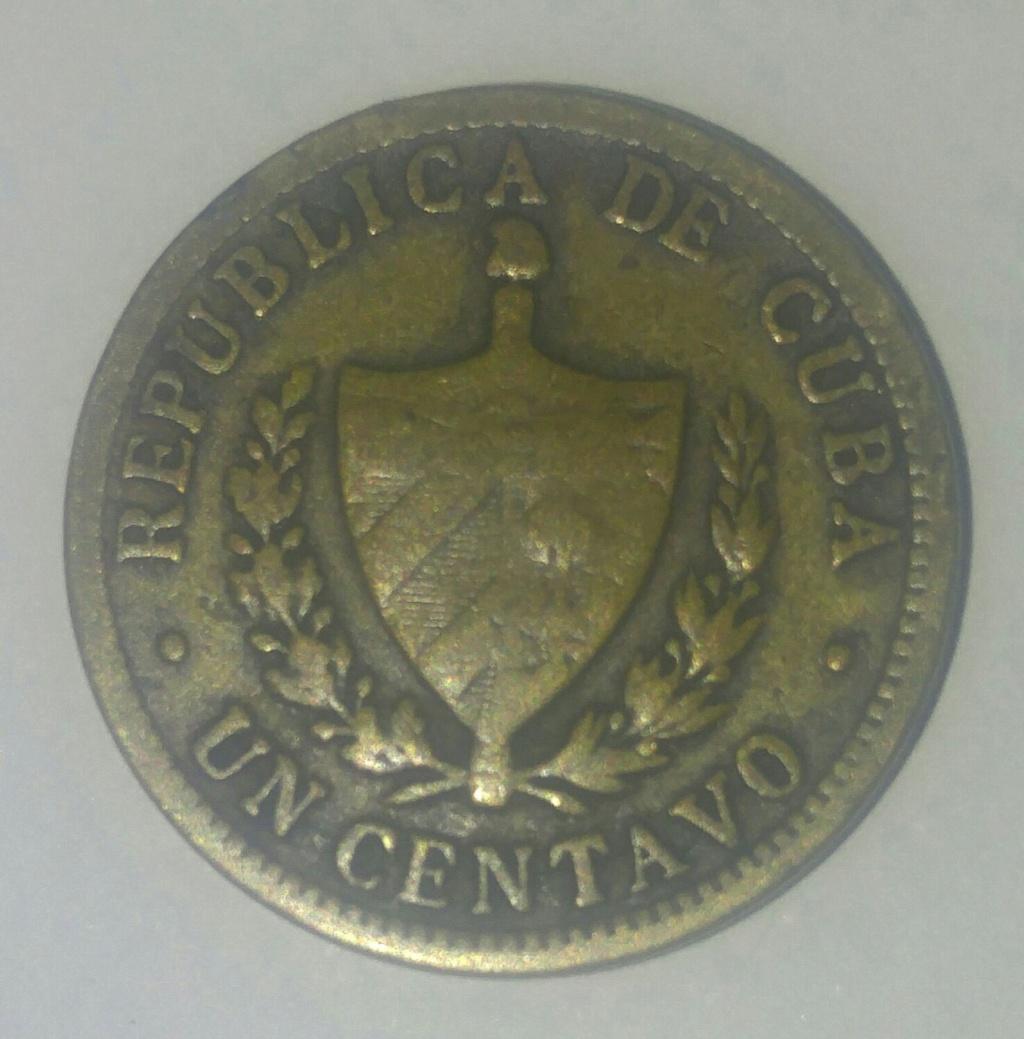 20 centavos República de Cuba 1916 Picsar11