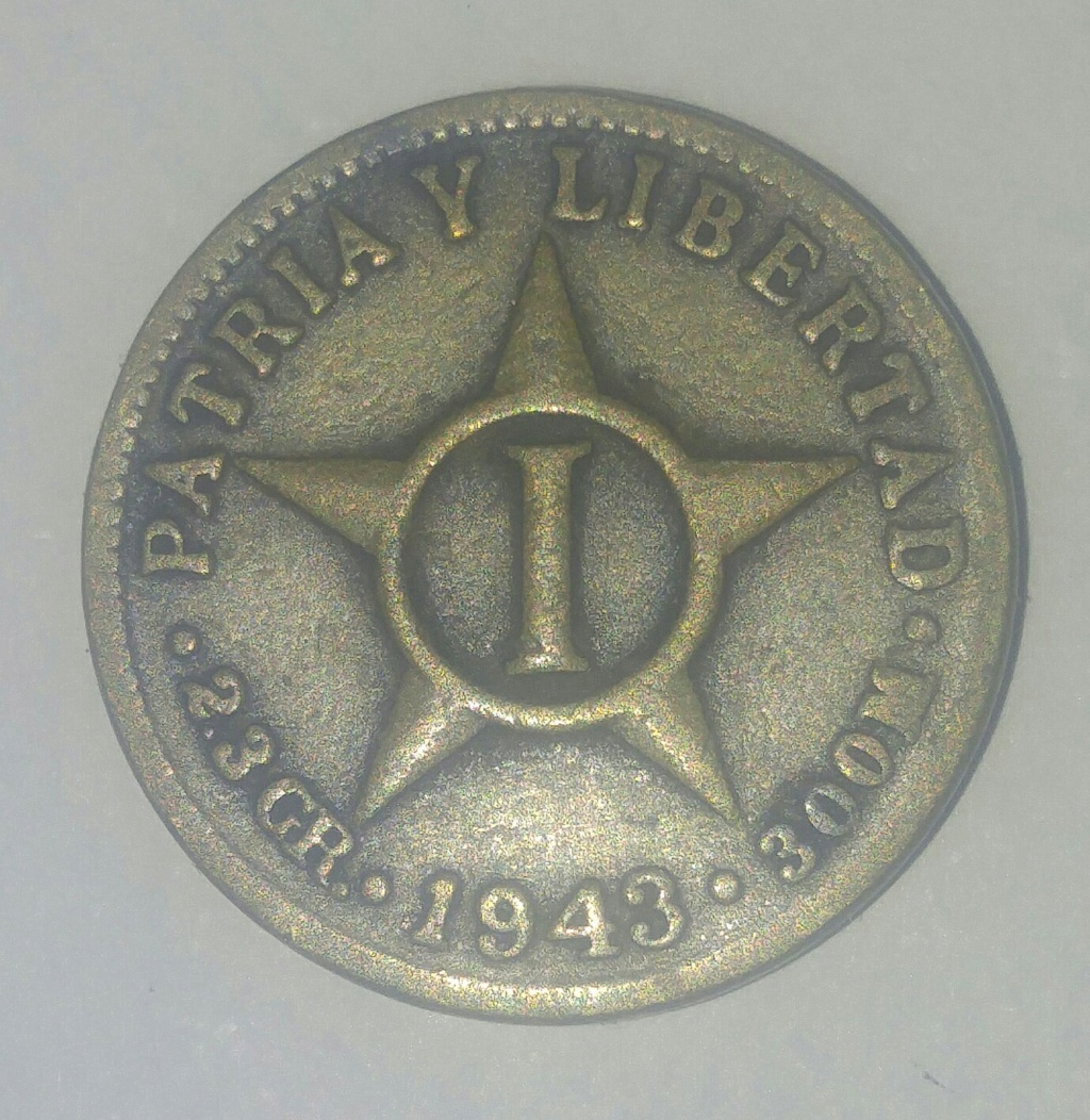 20 centavos República de Cuba 1916 Picsar12