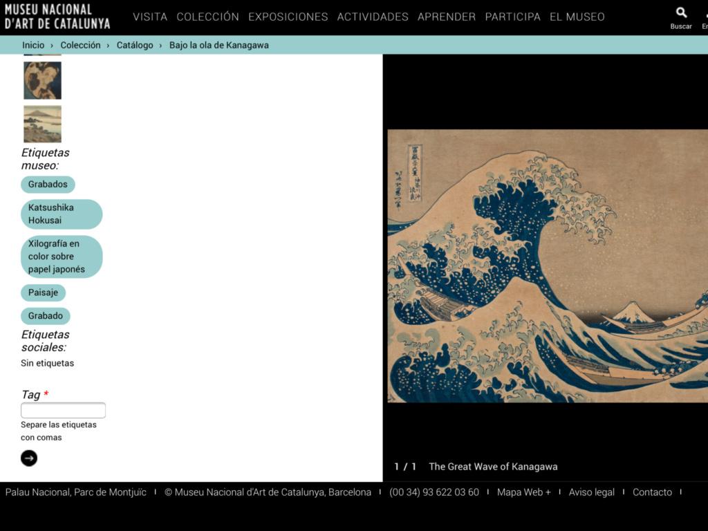 Kanagawa Wave en La Casa de Papel Img_6328
