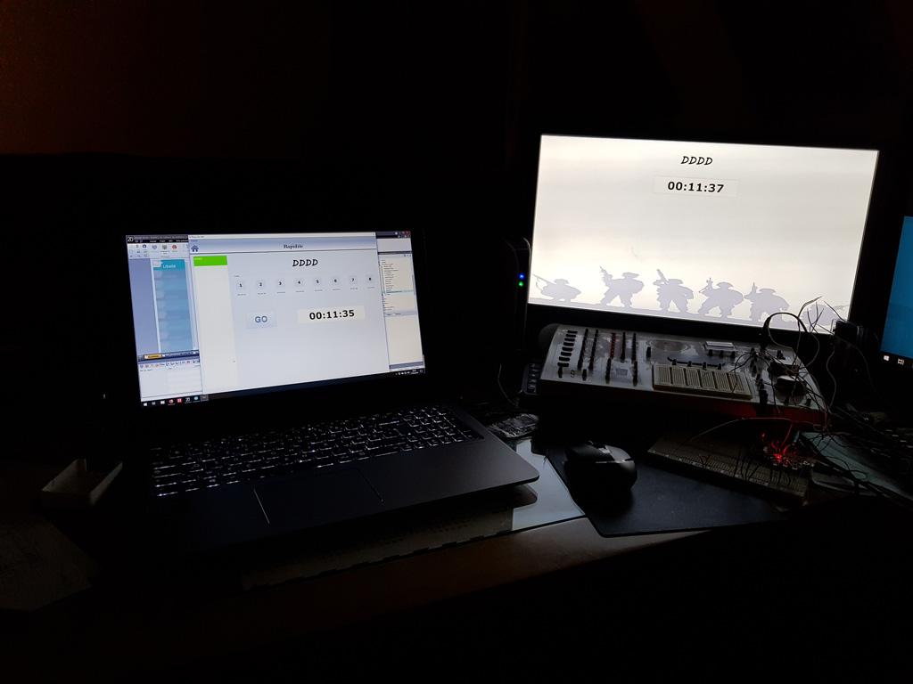 Ciblerie Arduino + PC 20180613